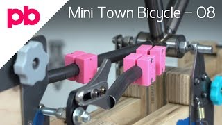 Bend Chain Stays and Fixture to Bicycle Frame Jig - Mini Town Bicycle 08