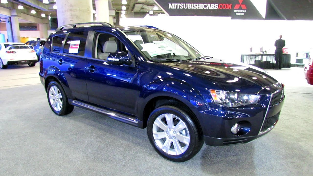 2012 mitsubishi outlander 4wd exterior and interior at. Black Bedroom Furniture Sets. Home Design Ideas