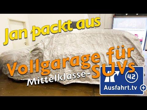 Preiswerte Autoplane / Autoabdeckung Für Mittelklasse SUVs - Jan Packt Aus!