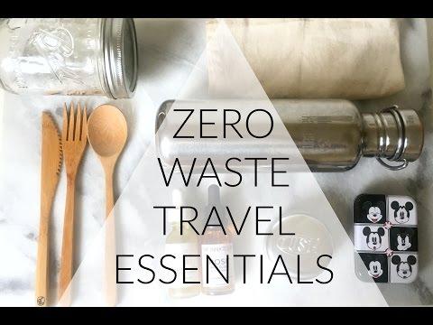 Zero Waste Travel Essentials | VEDA