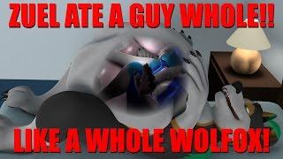 Zuel eats Wolfox! (no music)