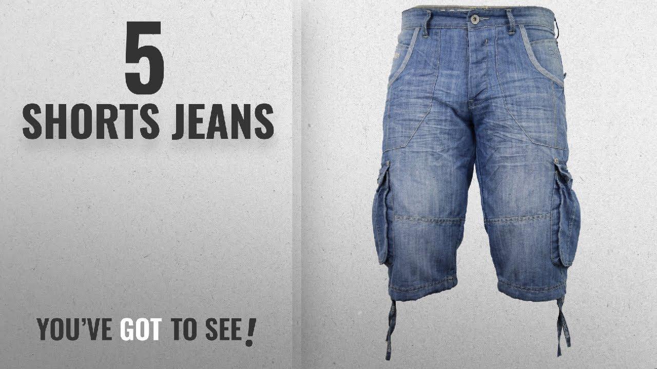 6c54a7f695f Top 10 Shorts Jeans  2018   Mens Crosshatch Kanaster Denim ...