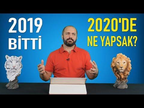 2020'DE NE YAPSAK?