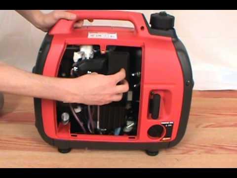 replacing the air filter honda eu2000i generator youtube. Black Bedroom Furniture Sets. Home Design Ideas
