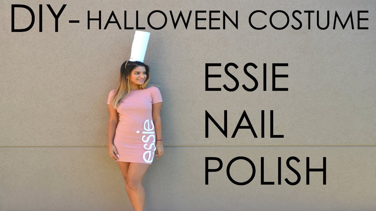 Diy Costume Essie Nail Polish