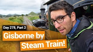 Gisborne Railway: Steam Train in New Zealand – New Zealand's Biggest Gap Year – BackpackerGuide.NZ