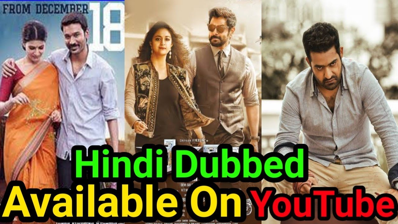 Best south hindi dubbed movies on youtube