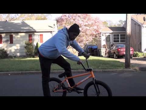 How To  BMX Barspin