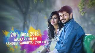 AAshish   Nandita Invite Video Save The Date  720 X 1280
