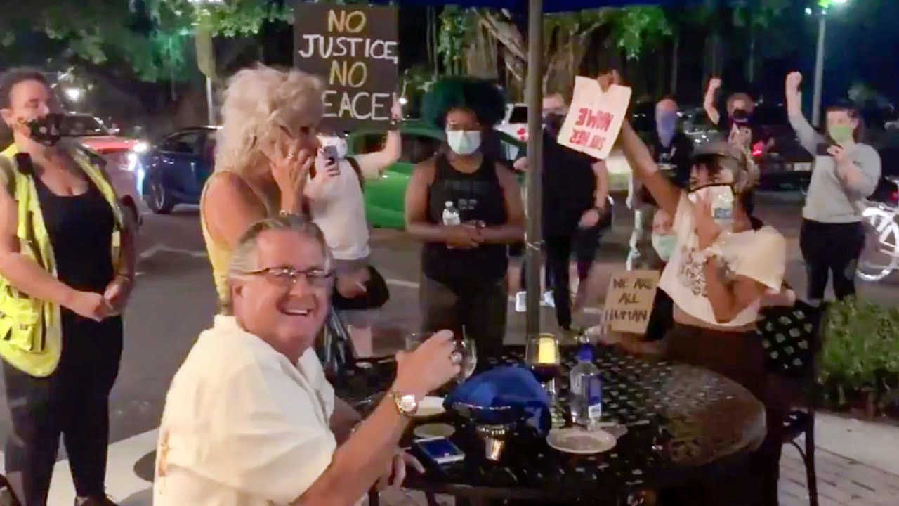 Tense moments in St. Pete go viral
