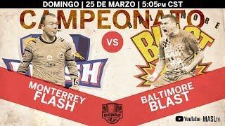 Ron Newman Cup Championship - Monterrey Flash vs Baltimore Blast (espanol) thumbnail