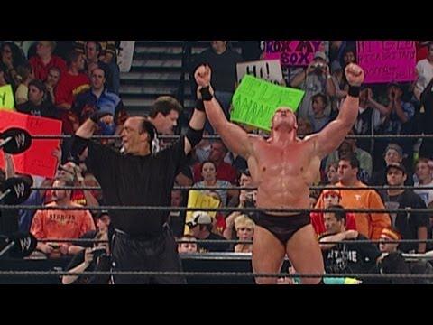 The Hardy Boyz vs. Brock Lesnar & Paul Heyman: Judgment Day 2002