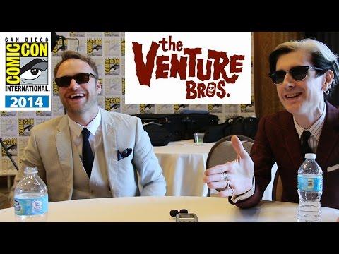 Venture Bros. Season 6  with Creators Jackson Publick & Doc Hammer  ComicCon 2014