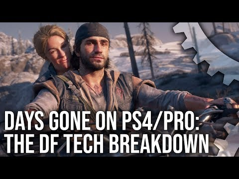 [4K] Days Gone on PS4/PS4 Pro: The Digital Foundry Analysis