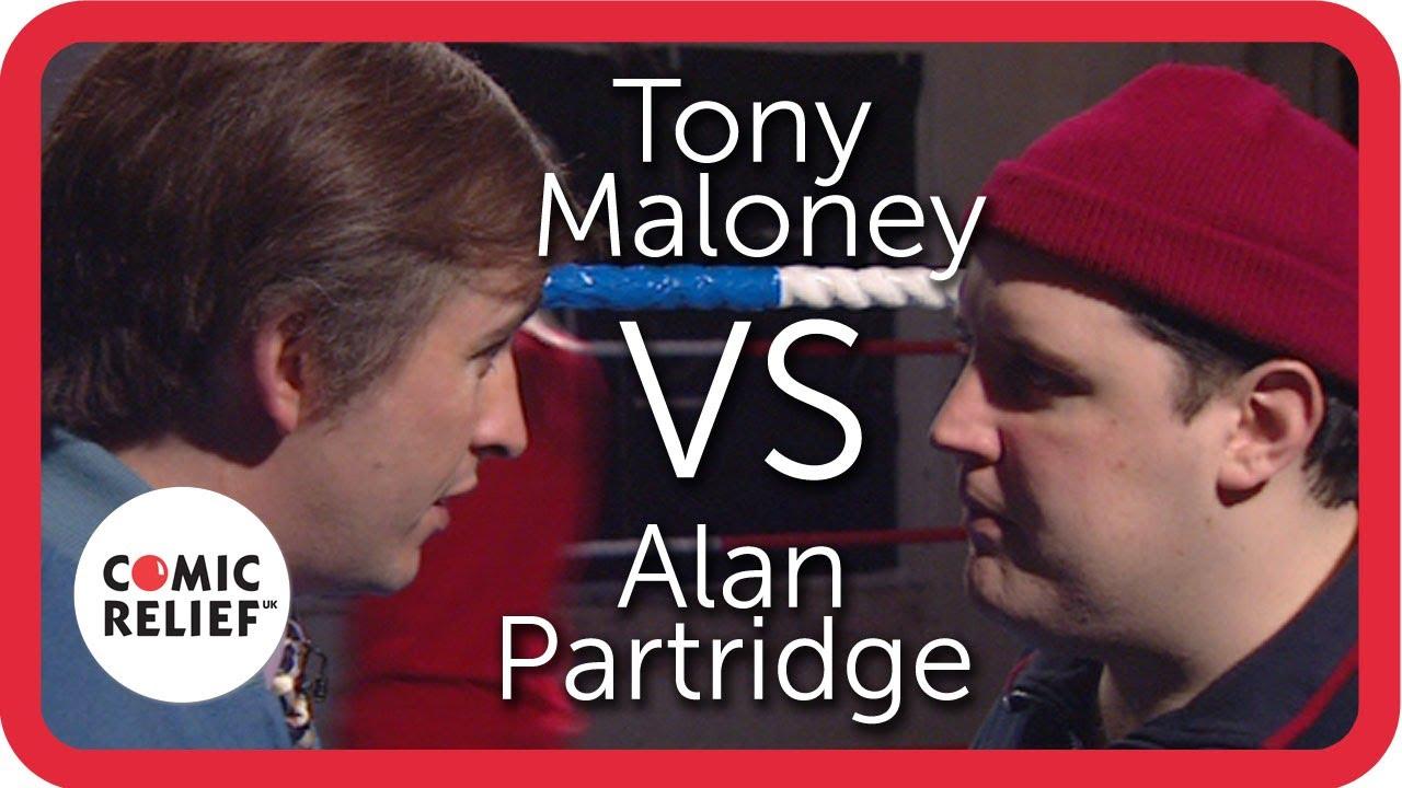 Alan Partridge Vs Tony Maloney (Peter Kay)