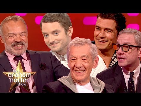 GANDALF THE GRAHAM  Best of LOTR on The Graham Norton
