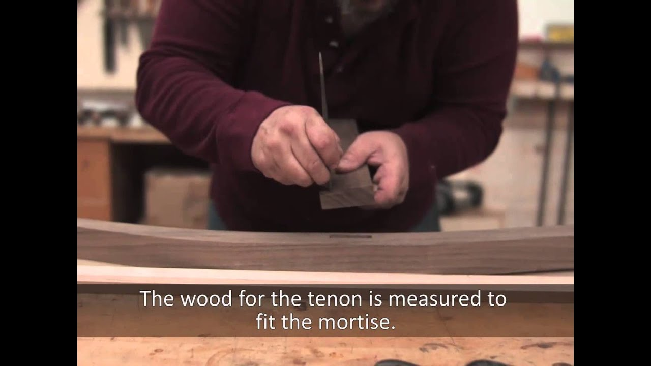 How to Make a Mortise and Tenon Joint - Furniture Design and Construction