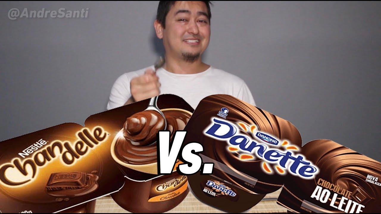 DANETTE vs. CHANDELLE - Qual O Melhor? #20 - André Santi