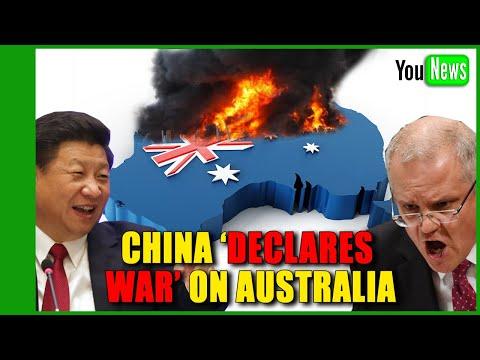 China declares economic war on Australia.