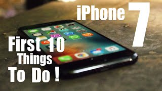iPhone 7 First 10 Things To Do!(, 2016-09-17T04:18:01.000Z)