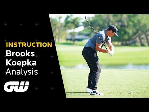 Brooks Koepka Swing Analysis + Profile | Instruction | Golfing World