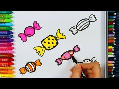 Как рисовать конфеты