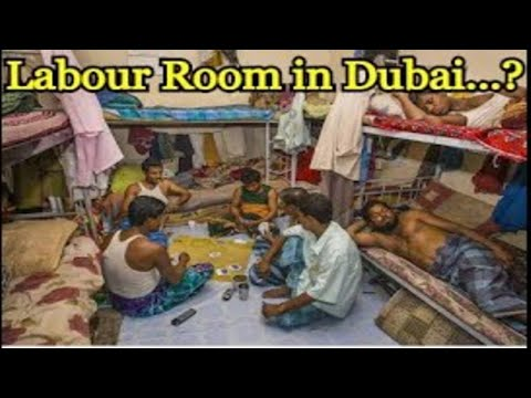 Labour room of China Petroleum Company in Abu Dhabi