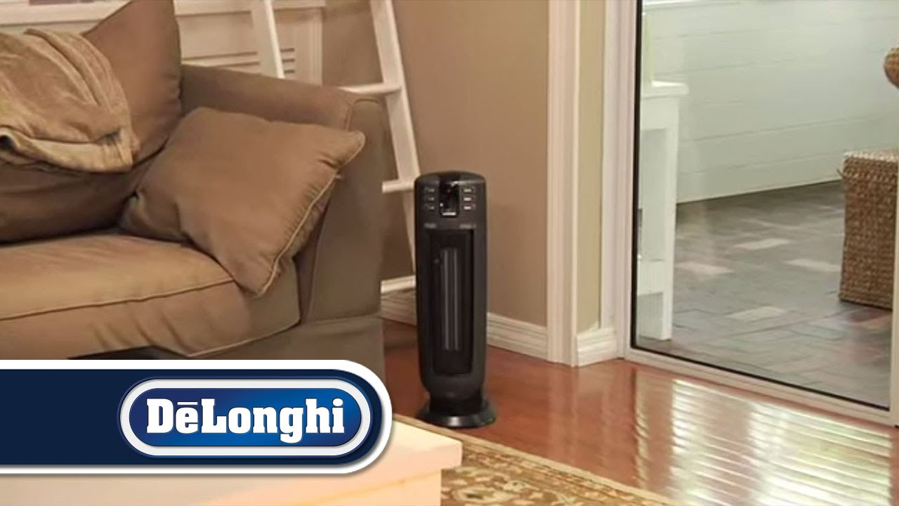 De Longhi Ceramic Heater Model Tch 7090er Youtube