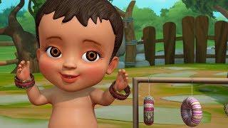 Gajulu Andi Gajulu | Telugu Rhymes for Children | Infobells