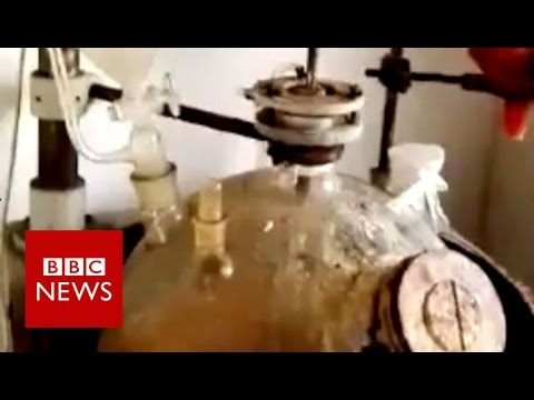 What goes on inside a Chinese 'legal high' factory? BBC News