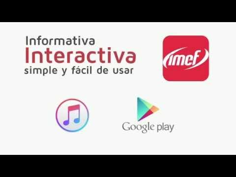 Te presentamos la nueva App IMEF