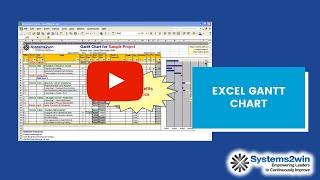 Excel Gantt Chart Project Plan