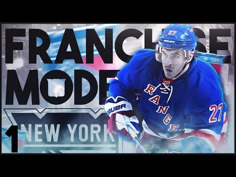 The Manhattan Project #1 - NY Rangers Franchise Mode (NHL 17)