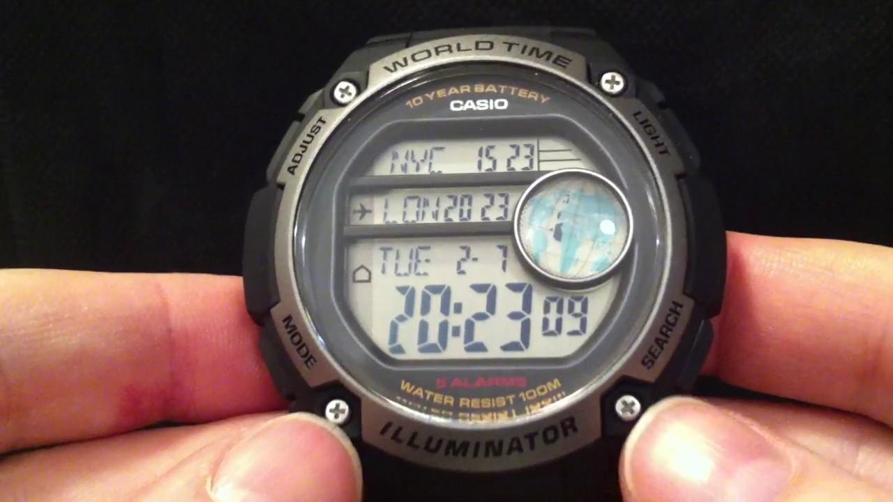 Reloj Casio para Caballero AE 3000W 1AVCF