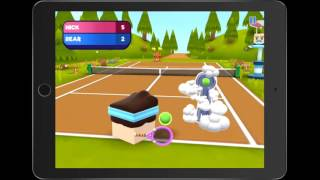 Игра Tennis Bits геймплей (gameplay) HD качество