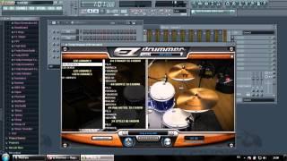 Подключаем EZdrummer к FL Studio