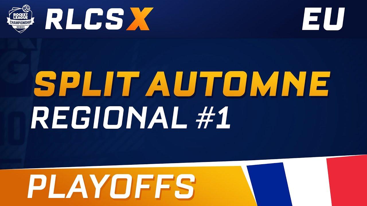 RLCS X - EU Regional 1 - Playoffs - Full Replay