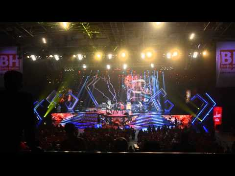Graphic Content for Lefthanded & Aweera Performance at ABPBH 2014
