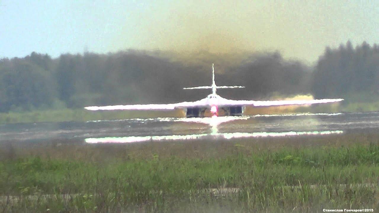 Взлет и посадка ту 22 м3