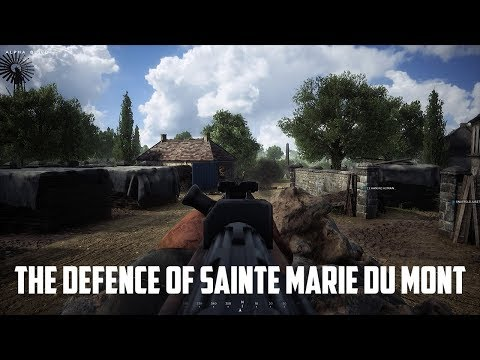 Hell Let Loose - Closed Alpha Gameplay - The Defence of Sainte Marie Du Mont!