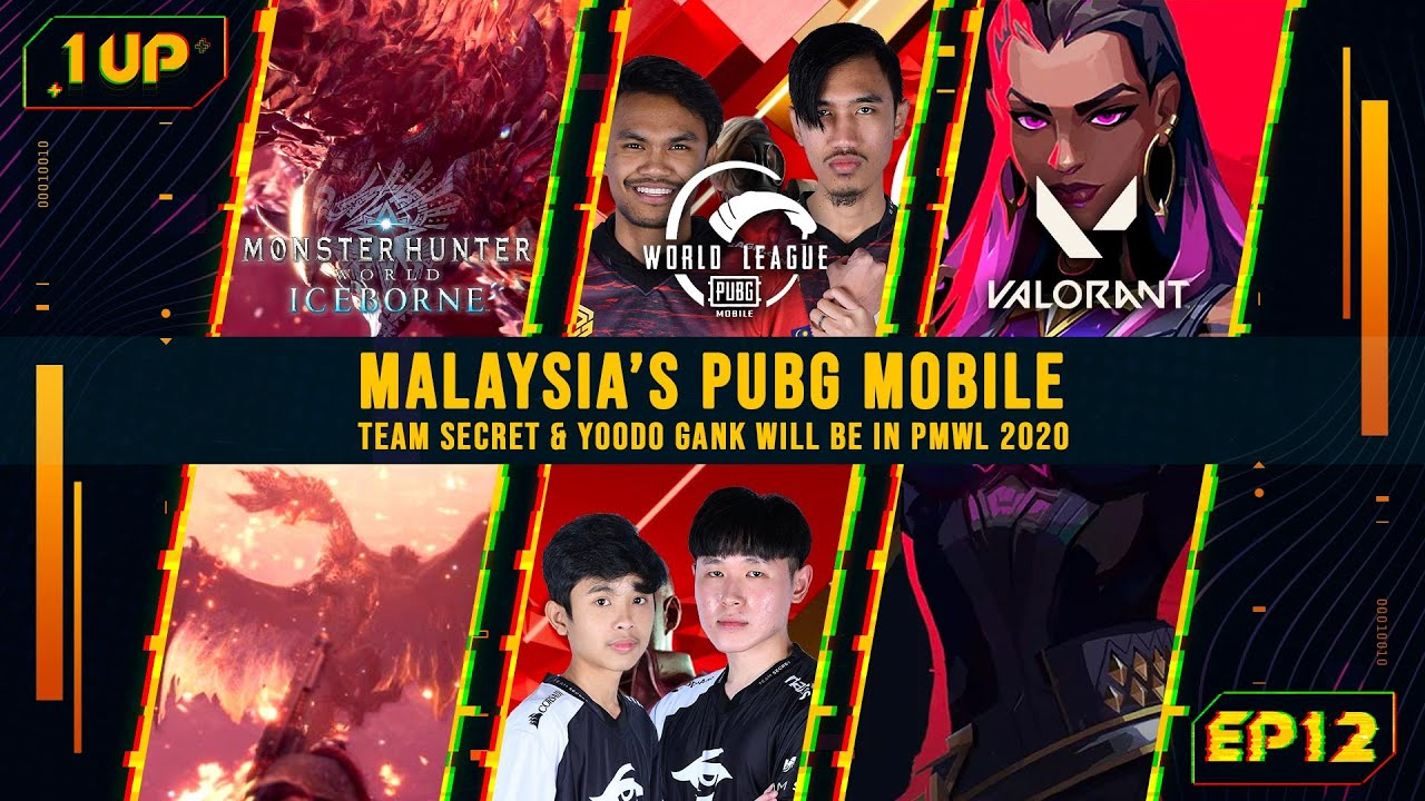 PUBGM Yoodo Gank and Team Secret represents Malaysia at PMWL?! - 1UP Episode 12