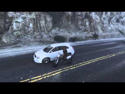 Играем за йети в GTA 5