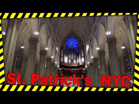 Dr. Carol Williams at St Patrick's Cathedral, NYC