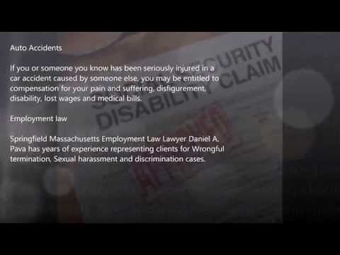 Auto accident lawyer in Agawam, MA - 413-781-8700 - Law Office of Daniel Pava