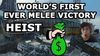 World's First Ever Melee/Knife Only Win In Heist On Black Ops 4 (CSGO Gamemode)
