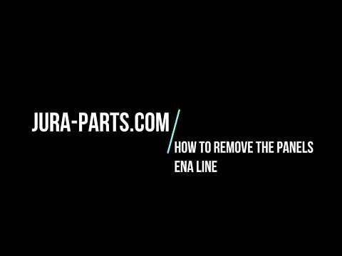 How To Open Jura ENA3-ENA4-ENA5-ENA7-ENA9 Coffee Machines