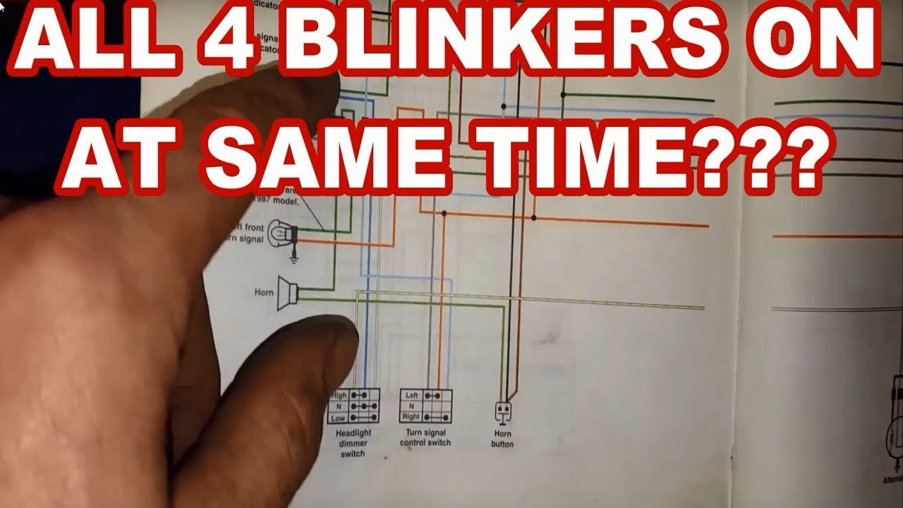Way Flasher Wiring Diagram Motorcycle on