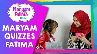 Cute Video of Maryam Quizzing Fatima About Islam