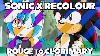 Sonic X Recolor: Rouge to Clorimary ★Request★