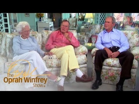 How the Bush Family Deals with Criticism | The Oprah Winfrey Show | Oprah Winfrey Network